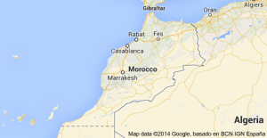 Rabat, Morocco Map