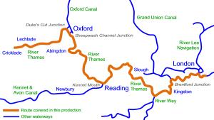 Thames Map